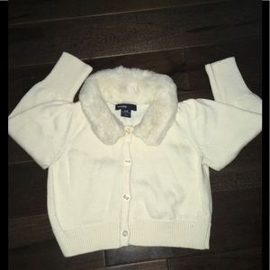 Baby Gap Cardigan Sweater.